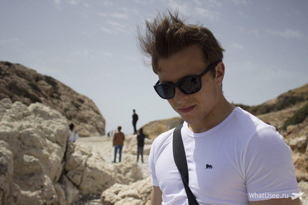 Пляж в бухте Афродиты
