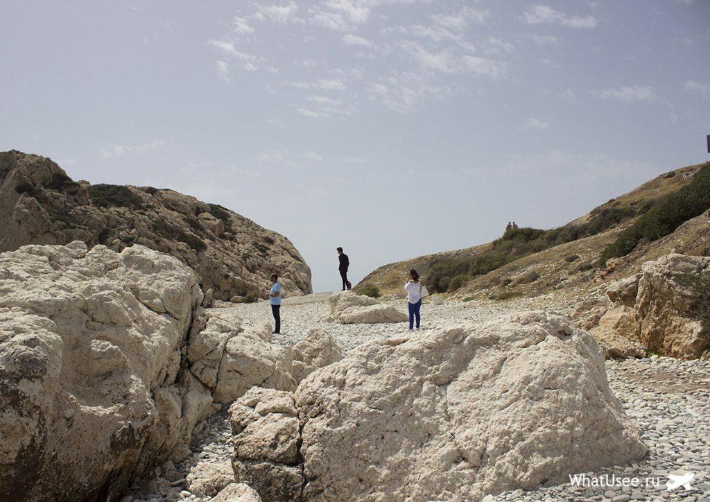 Петра ту Ромиу, или камень Афродиты на Кипре