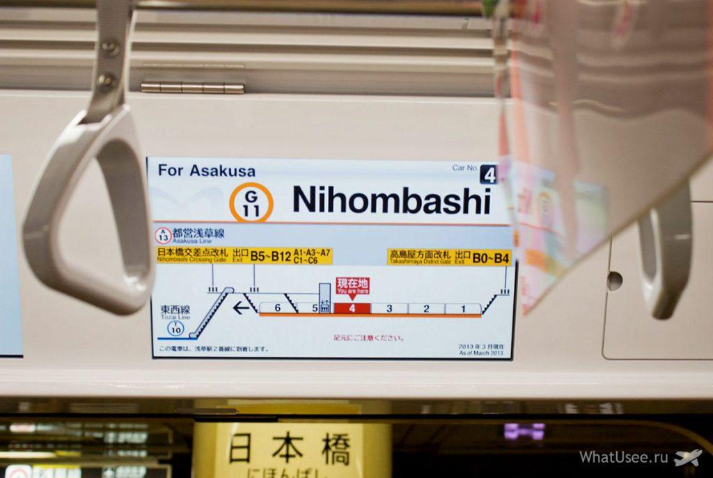 Как разобраться в токийском метро