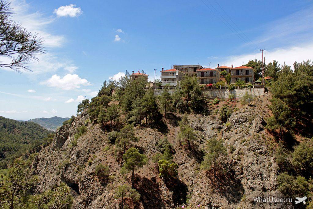 Вид на горы Троодос