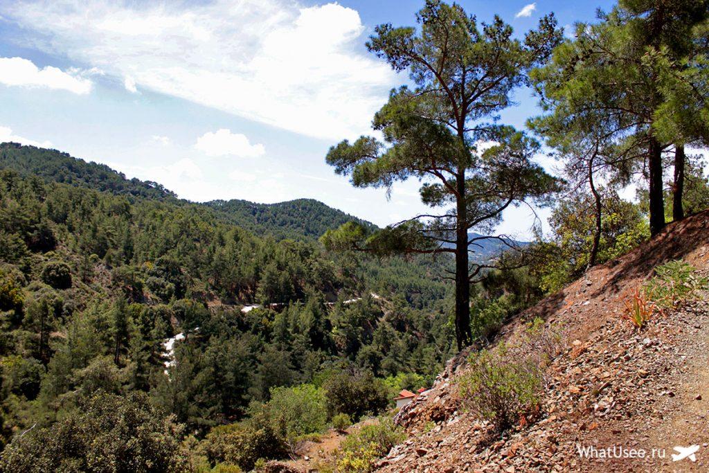 Идём к водопаду Милломерис на Кипре