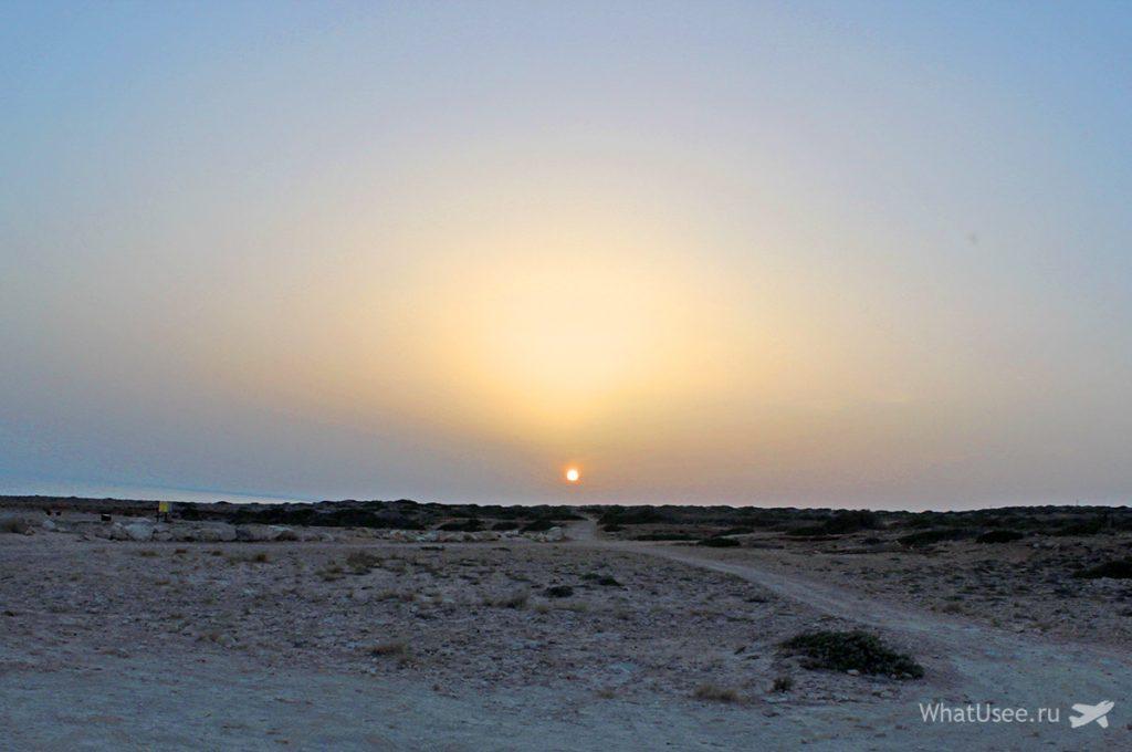 Каво Греко и закат на Кипре