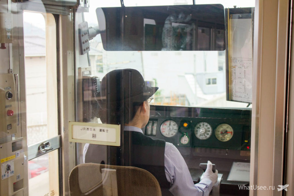 Поезда в Японии