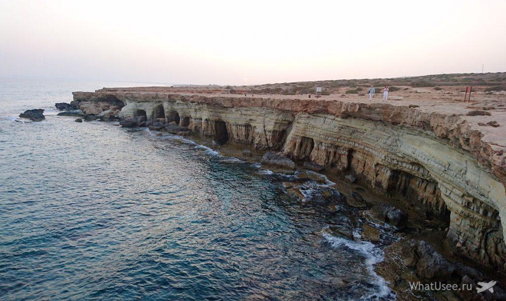 Морские пещеры на Каво Греко