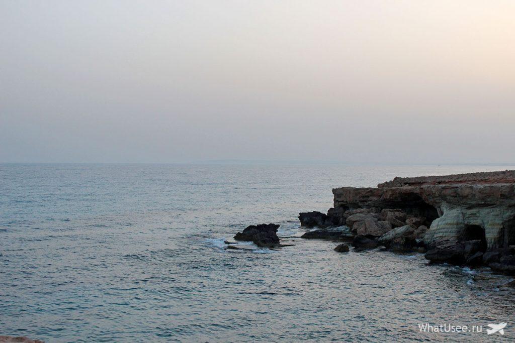 Мыс Каво Греко на Кипре и национальный парк