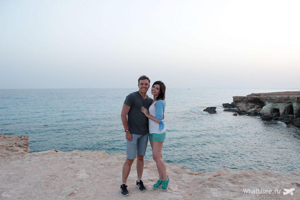 Фото на мысе Каво Греко на Кипре