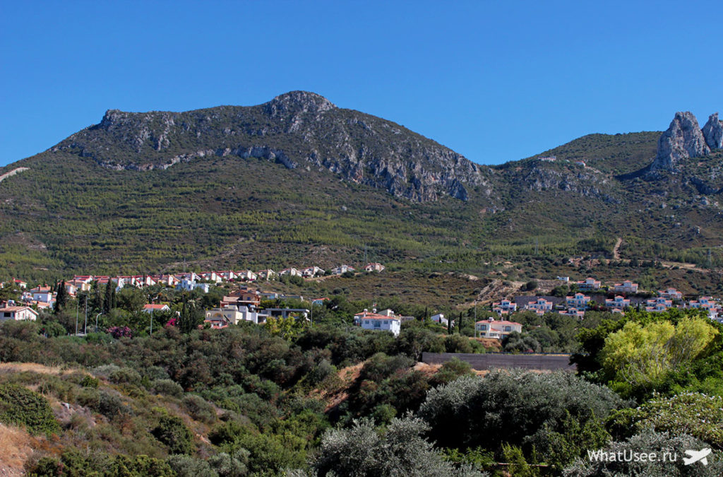 Вид на Киренийские горы