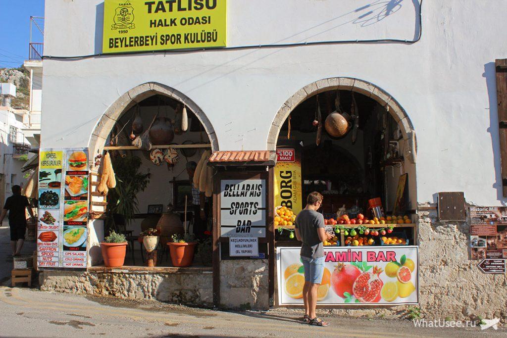 Деревня Беллапаис на Северном Кипре