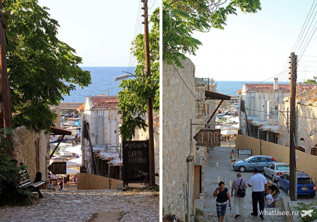Старый город Гирне на Северном Кипре