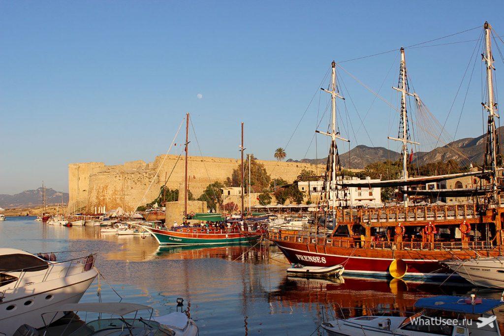 Замок в Кирении, Севернй Кипр