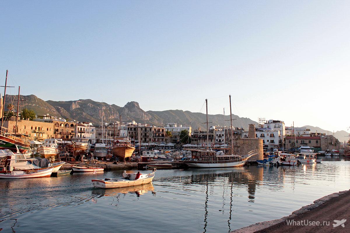 Старый порт в Гирне на Северном Кипре