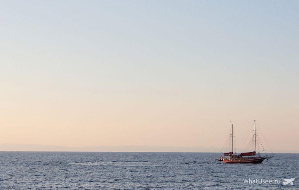 Расстояние между Северным Кипром и Турцией