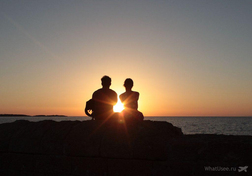 Вечером в Кирении, Северный Кипр