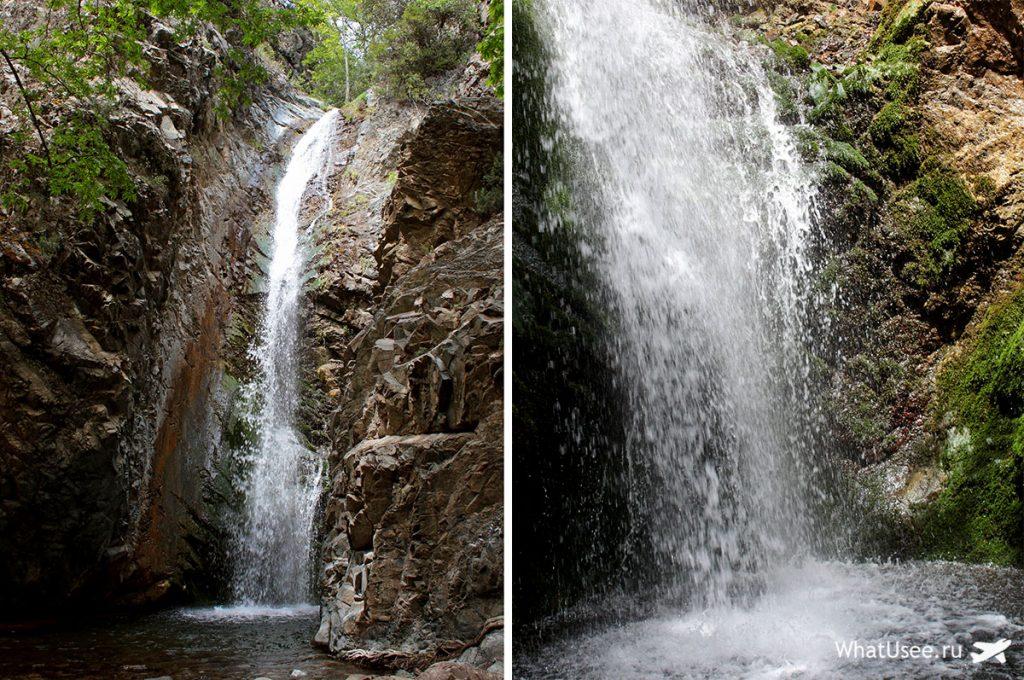 Водопады Троодоса из Платреса