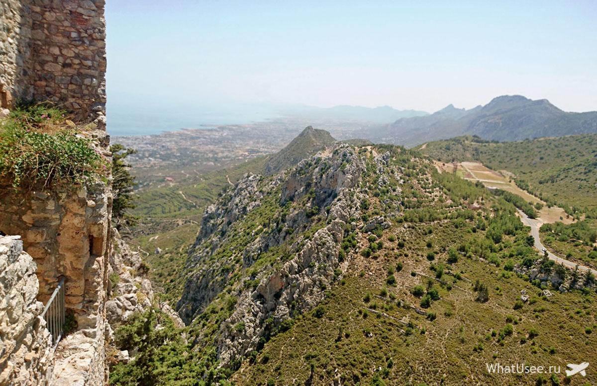 Северный Кипр Замок Святого Иллариона