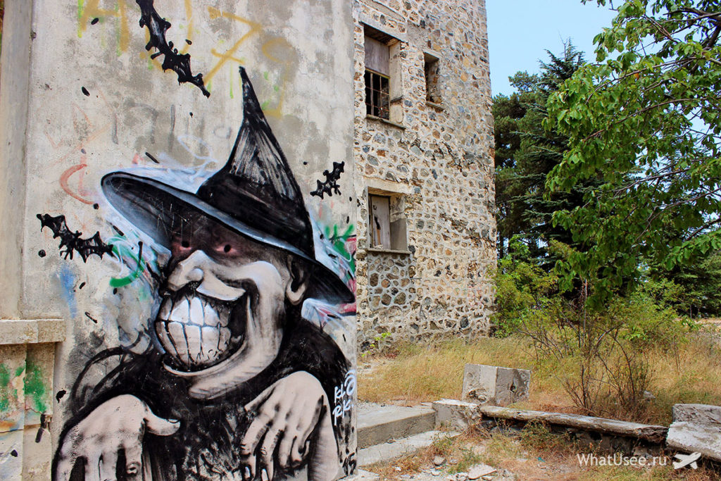 Заброшенный отель Беренгария Кипр