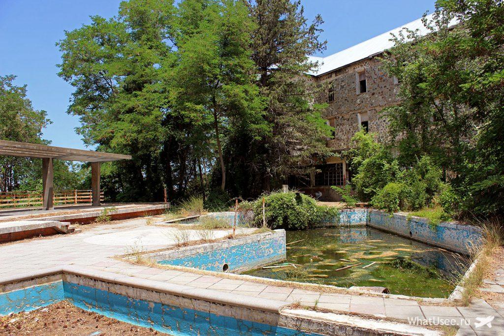 Посещение заброшенного отеля Беренгария на Кипре