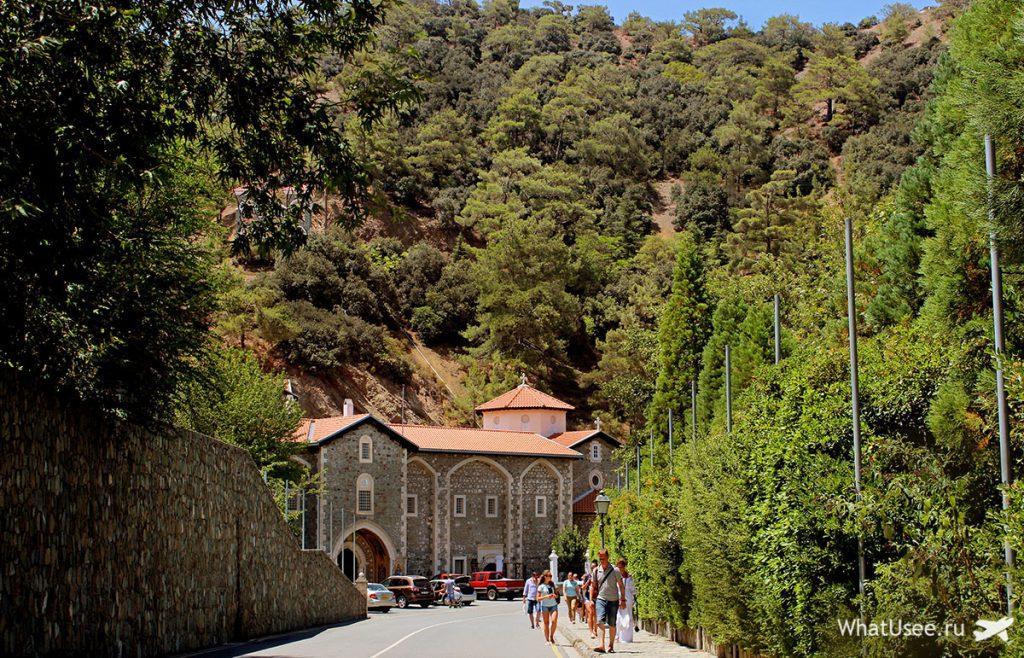 Монастырь Киккос в Троодосе