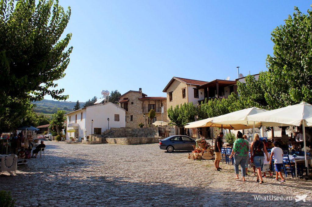 Деревня Омодос, Кипр