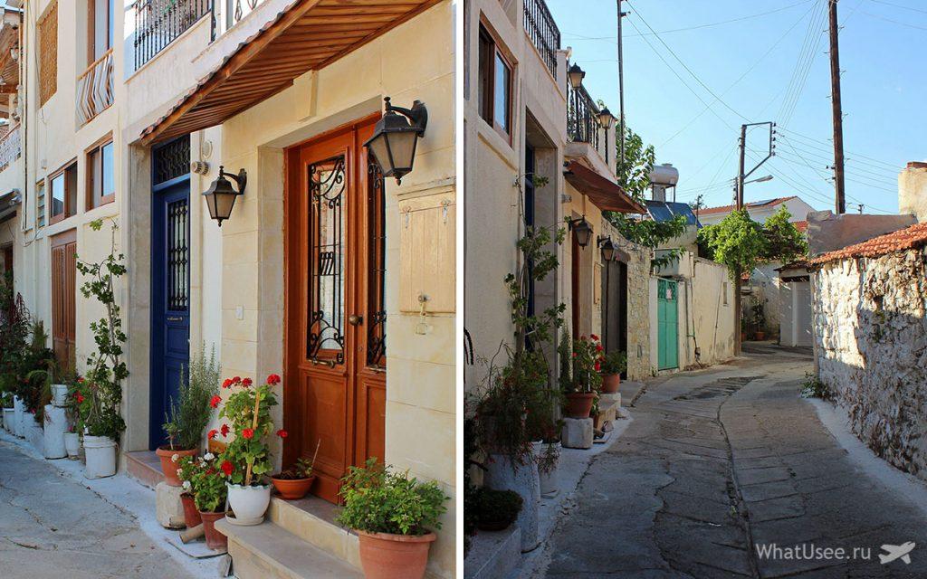 Прогука по деревне Омодос на Кипре