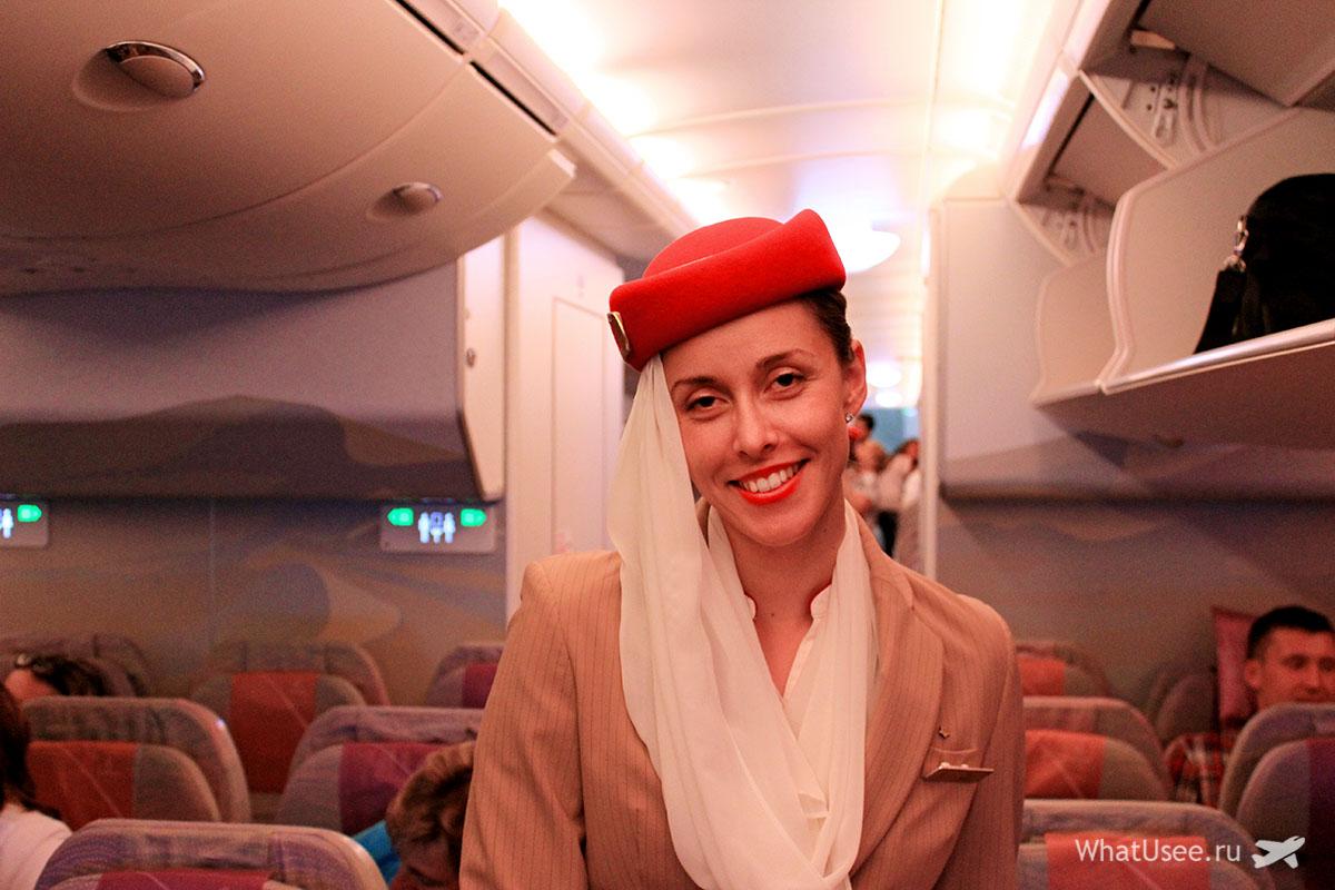 Авиакомпания Εmirates в Дубай