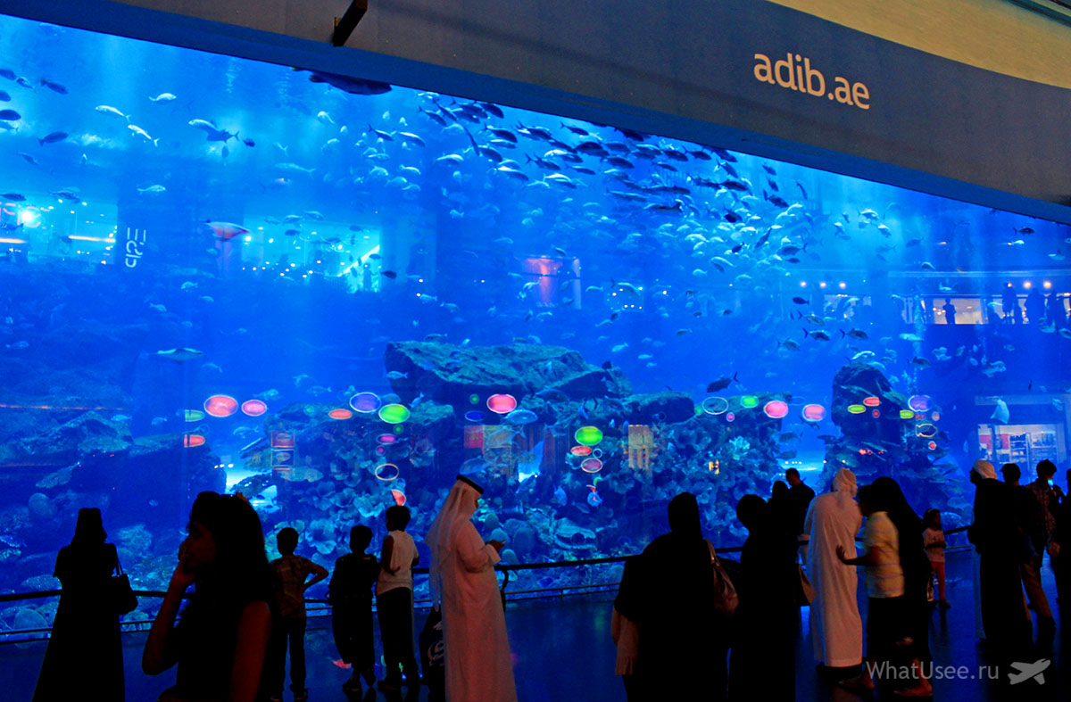 Дубай Молл в ОАЭ