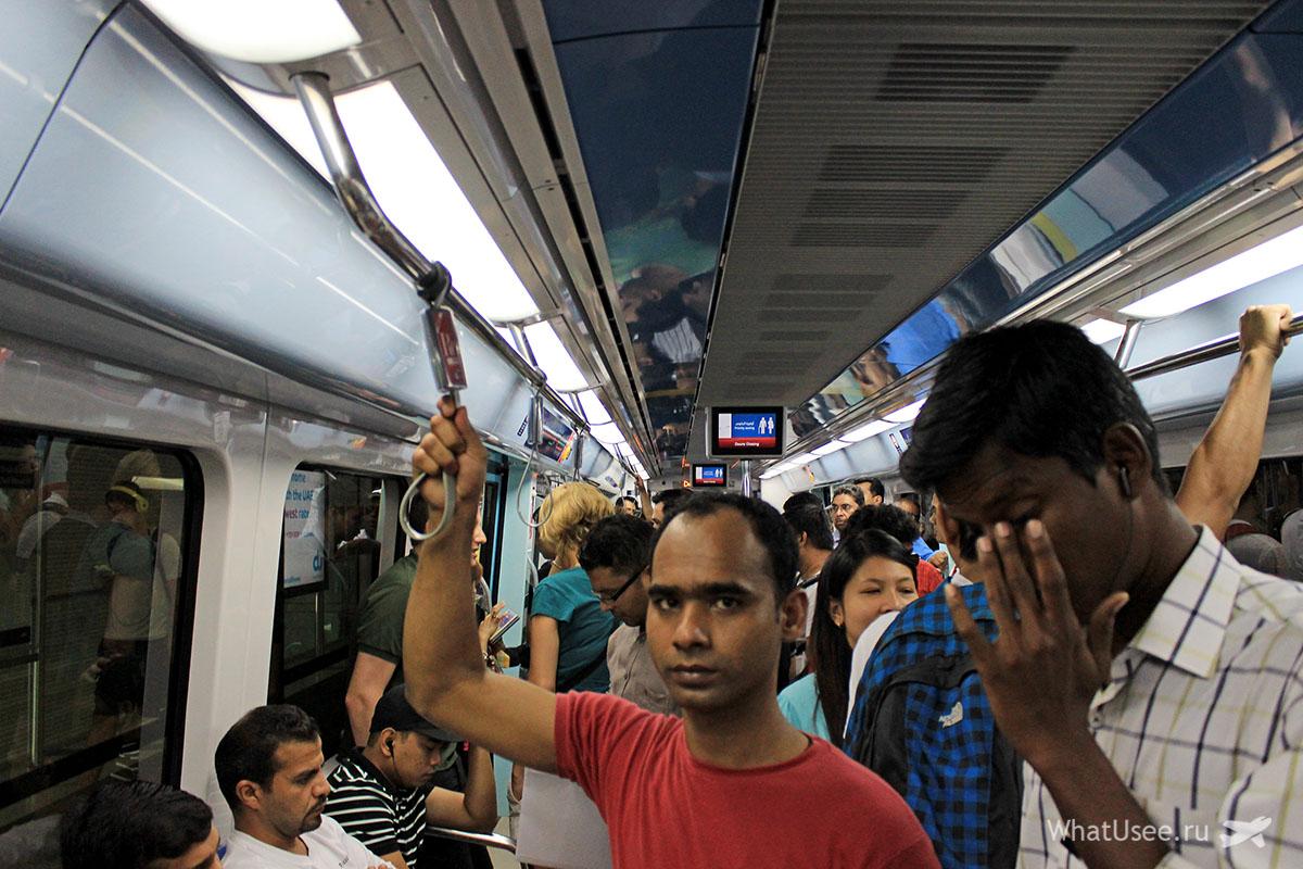 Билет в метро в Дубае фото