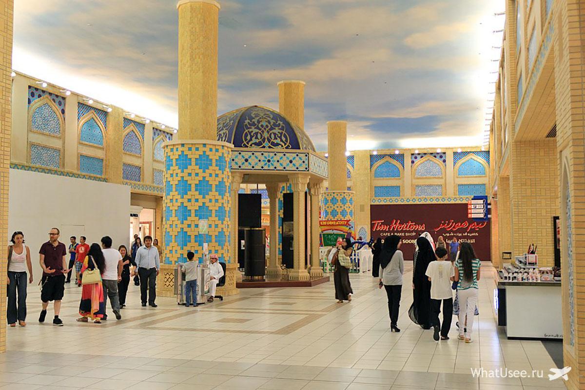 Торговый центр Батута Молл в Дубае