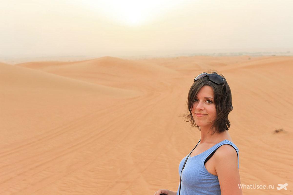 Сафари на джипах по пустыне Рас-аль-Хайма