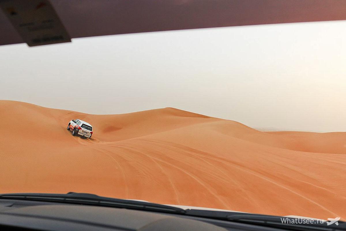 Джип сафари по пустыне ОАЭ