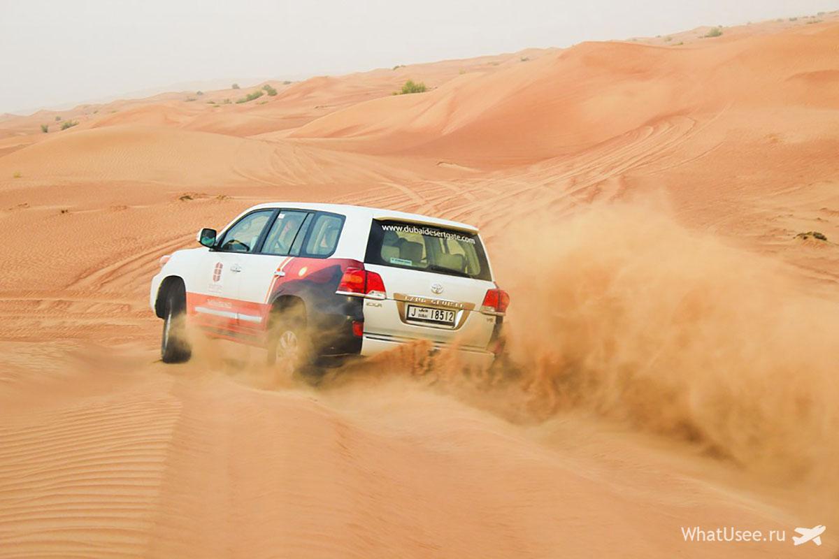 Сафари на джипах по пустыне из Дубая