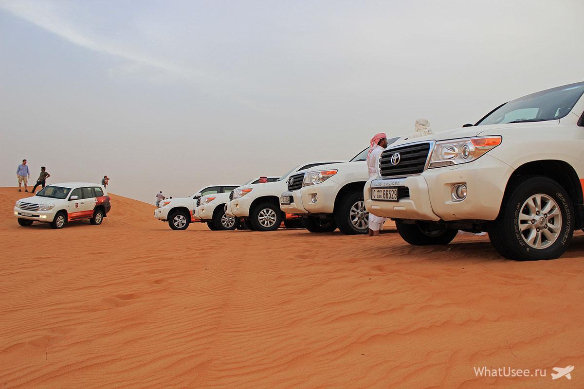 Сафари на джипах по пустыне в Дубае