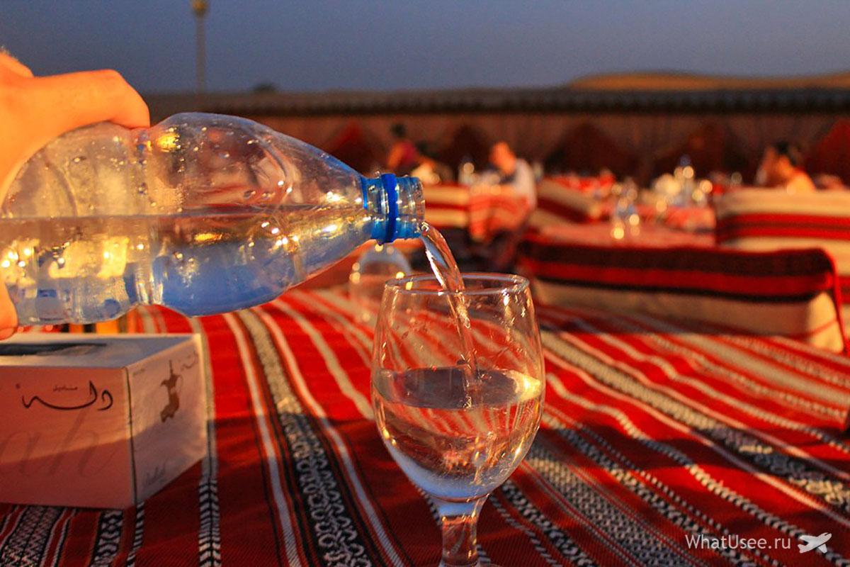 Деревня бедуинов в Эмиратах