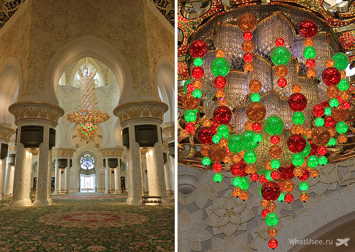 Посещение мечети шейха Зайда