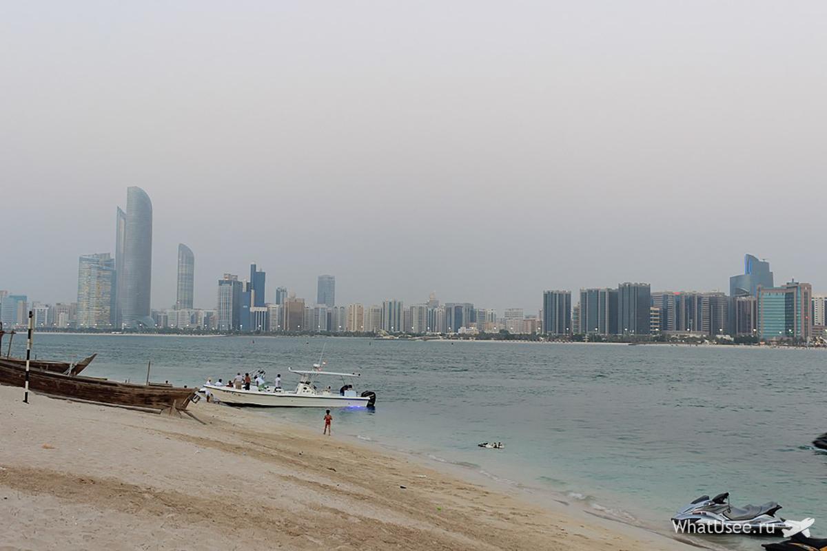 Набережная в Абу-Даби