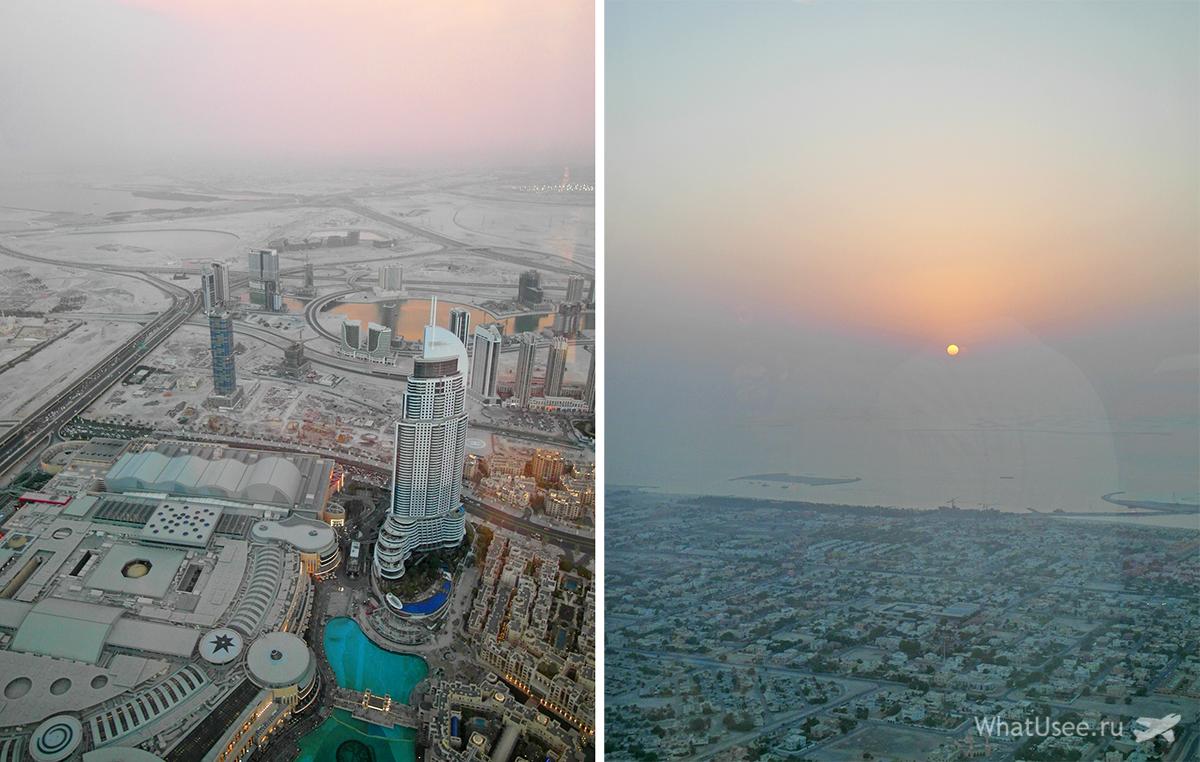 Смотровая площадка в Бурдж-Халифа в Дубае