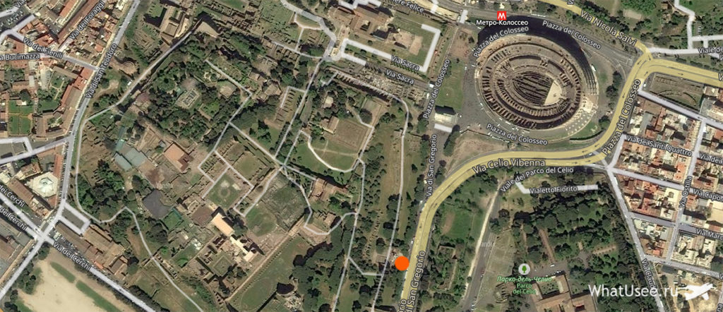 Где находится Палатин в Риме