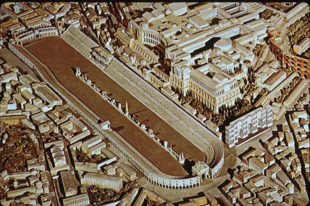 Палатин во времена Римской империи