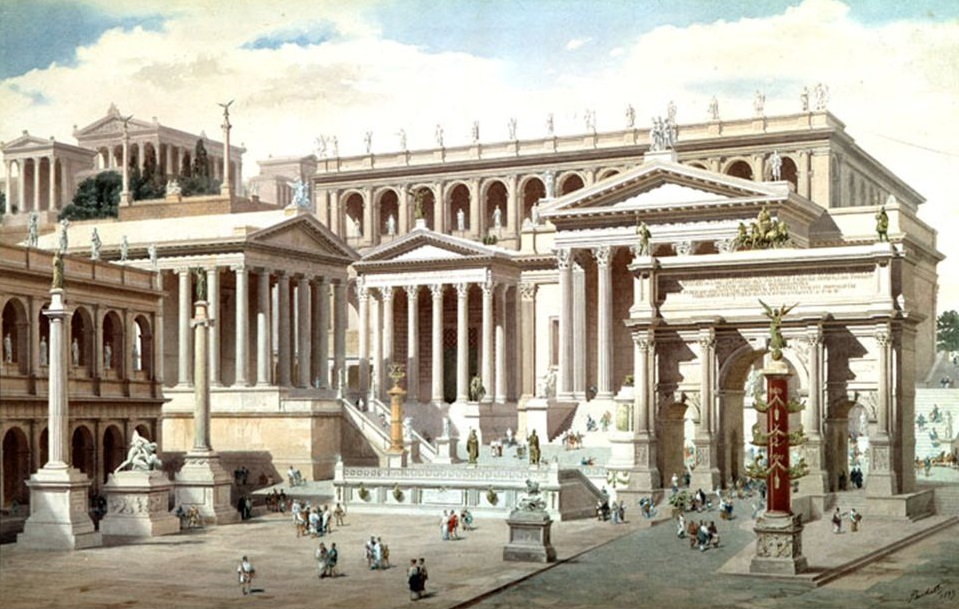 an analysis of theatre in roman empire