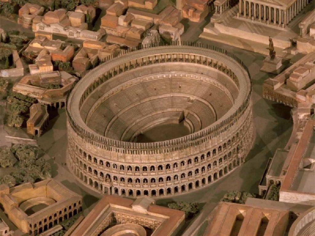 Амфитеатр Флавиев, или история Колизея