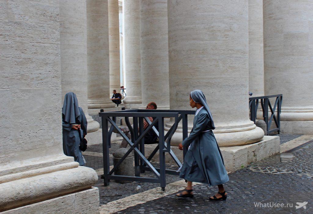 Проходим на территорию Ватикана