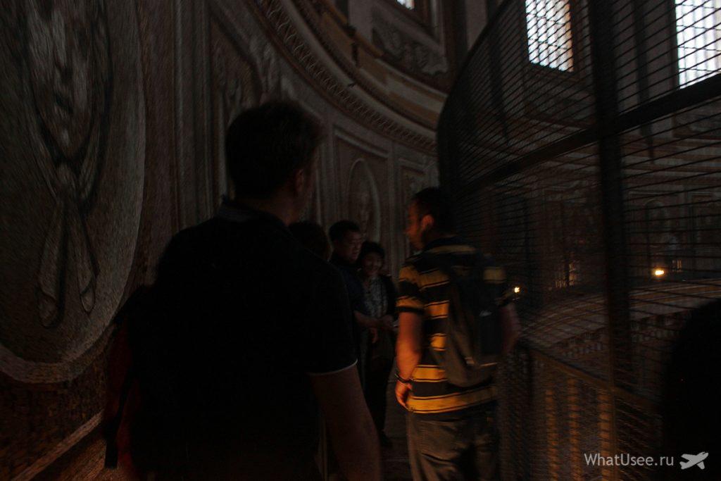 Подъём на собор Святого Петра в Ватикане