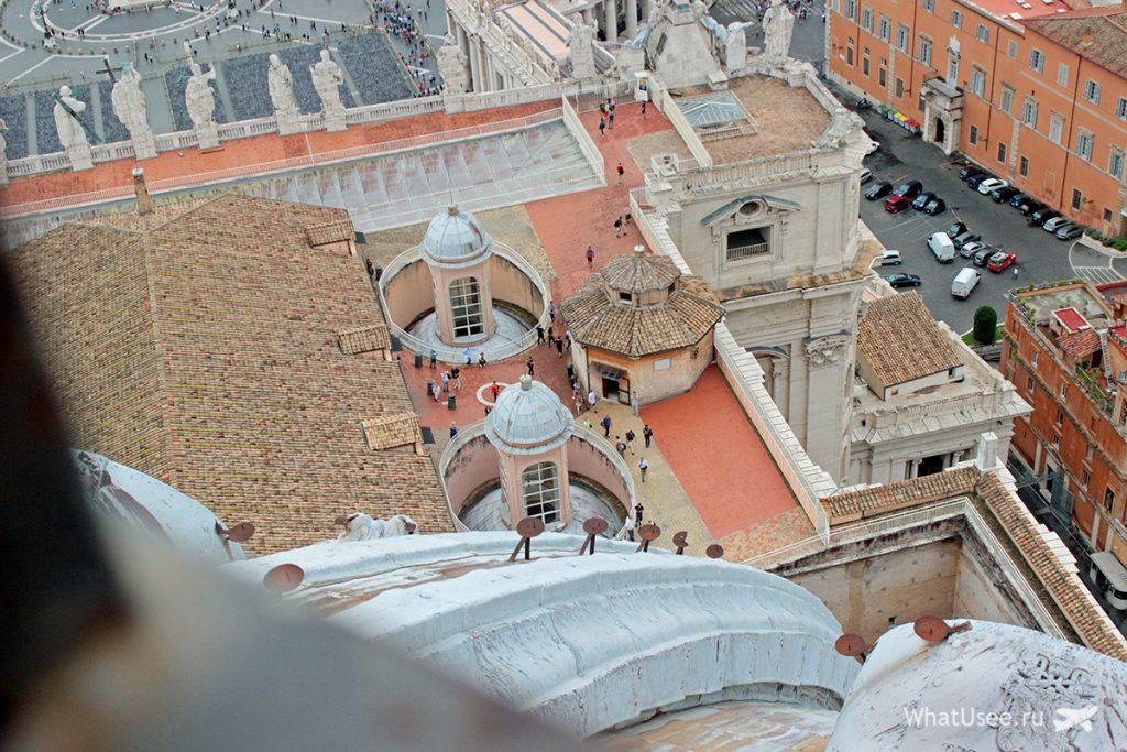 Собор Святого Петра, смотровая площадка