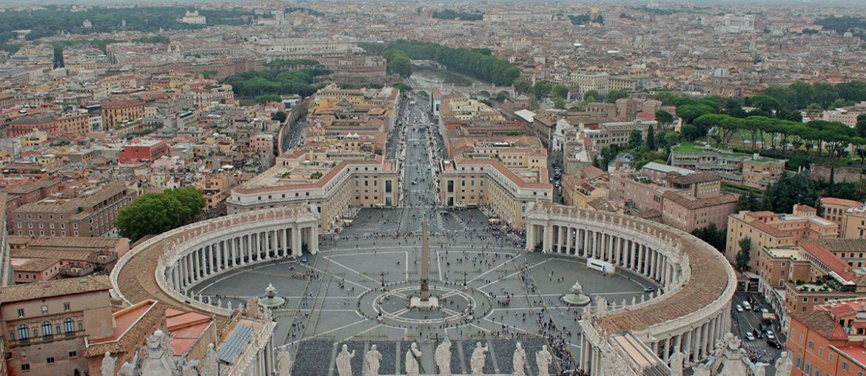 Ватикан самостоятельно за один день