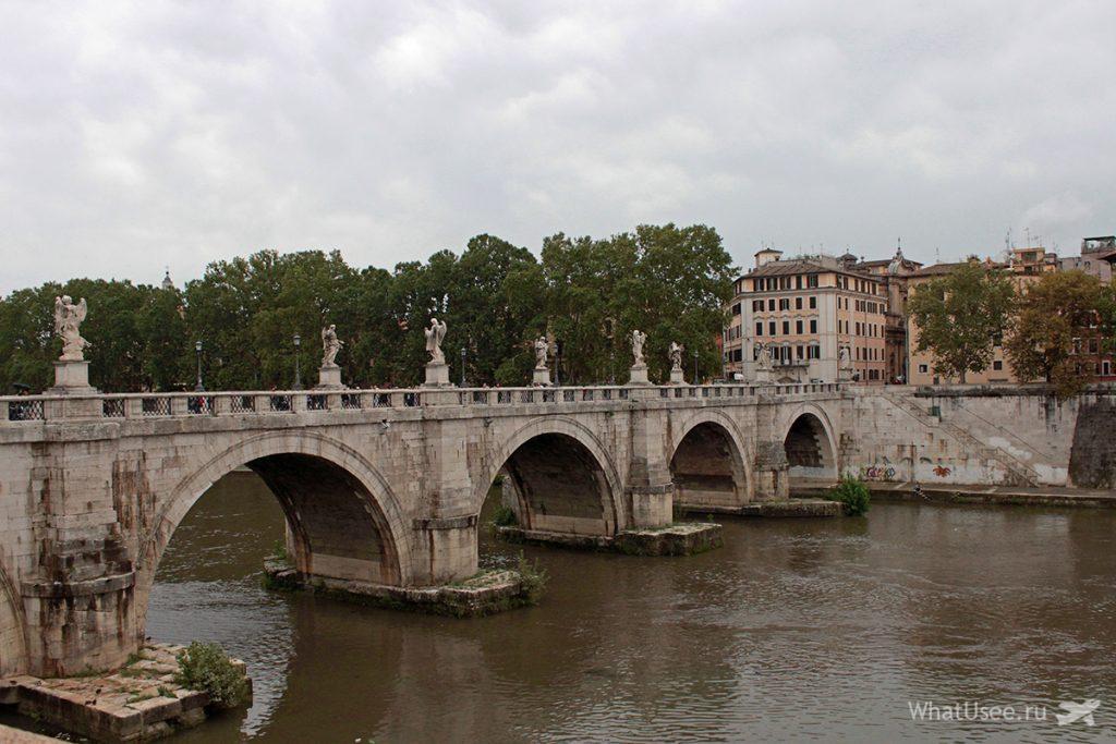 Мост у замка Святого Ангела