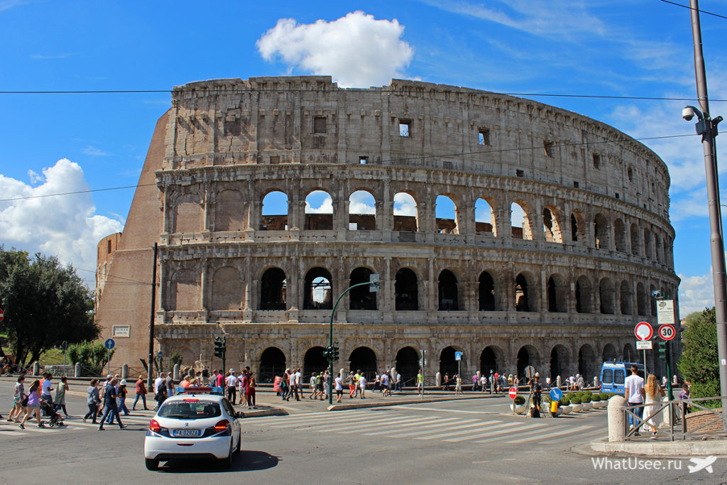 Римский форум. Палатин. Колизей