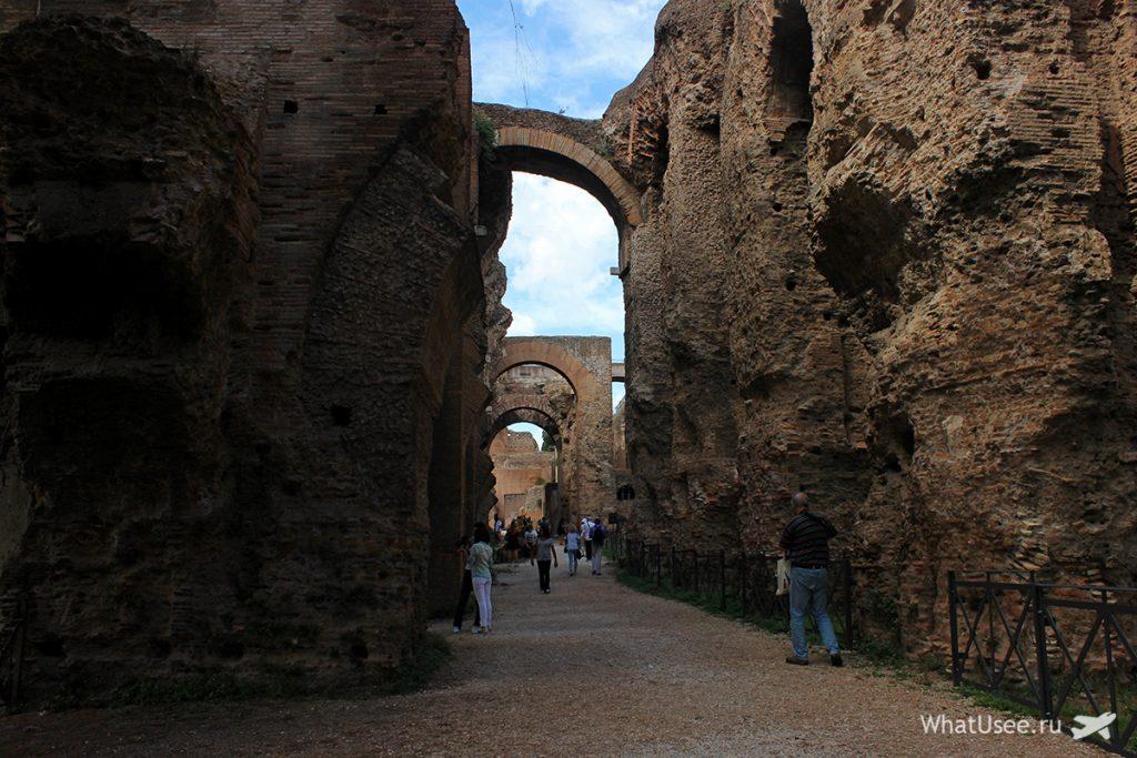 Развалины дома Севериана, Палатин, Рим
