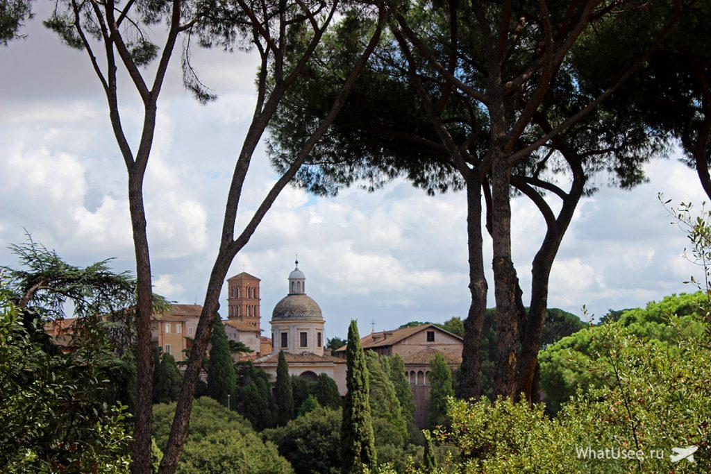 Палатинский холм и Рим