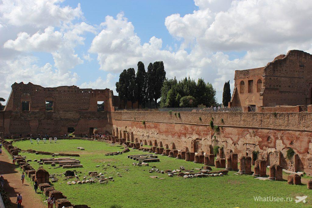 Стадион Домициана на Палатине