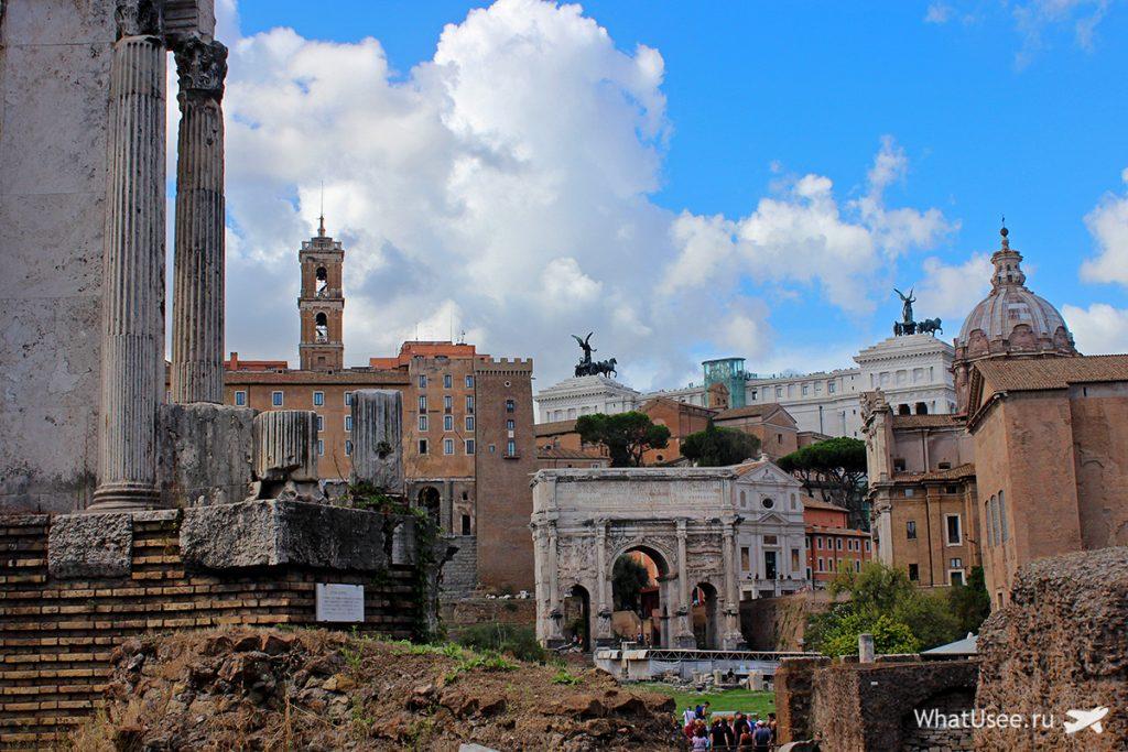 Храм Сатурна в Римском Форуме